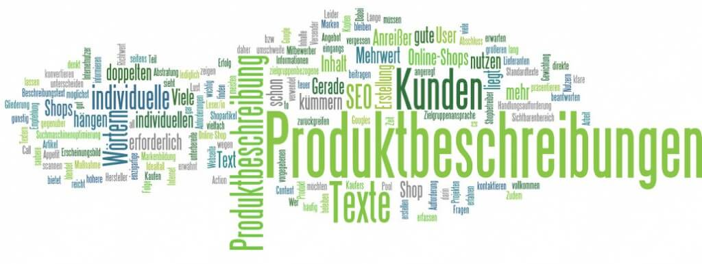 Produktbeschreibungen sind für das Marketing eines Online-Shops wichtig!
