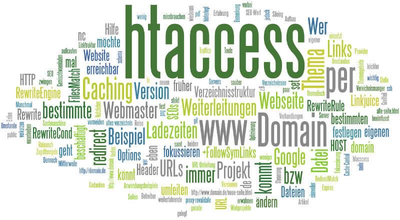 htaccess redirect und mehr