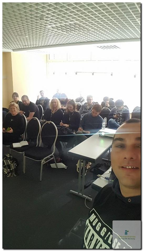 APP-SEO Vortragspublikum