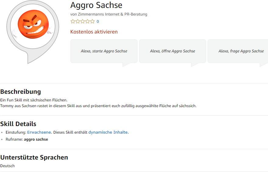 Aggro Sachse Skill