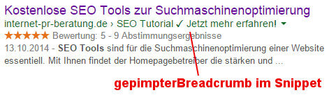 Breadcrumps mit WordPress SEO optimieren