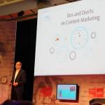 Klaus Eck doziert über die Dos and Don'ts im Content-Marketing