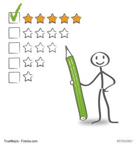 Kundenbewertungen zählen auch zum Content