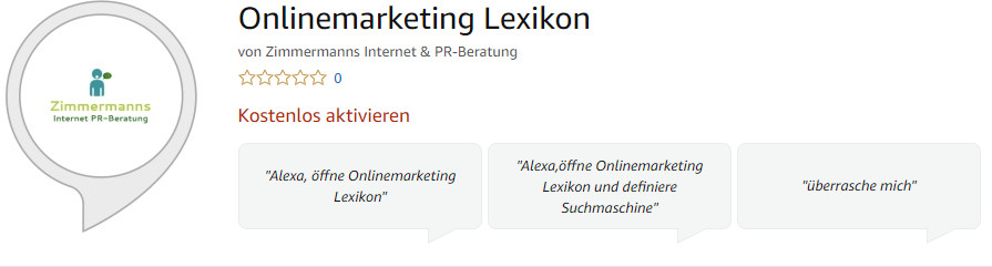 Onlinemarketing Lexikon Skill