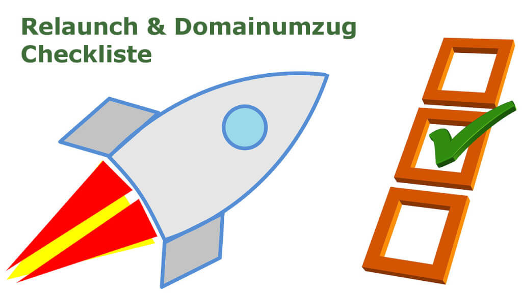 Relaunch & Domainumzug Checkliste