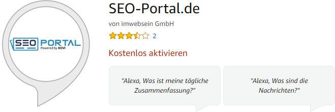SEO-Portal.de Skill Amazon