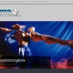 Landingpages für die Eventagentur SMA Events & Artists in Österreich.