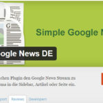 Simple Google News DE
