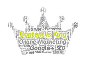 Content is King im Content Marketing!