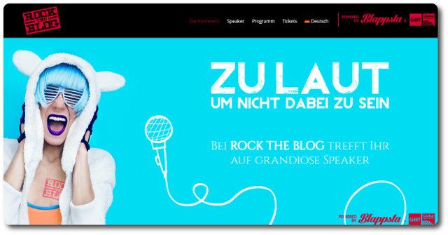 Rock The Blog 2015