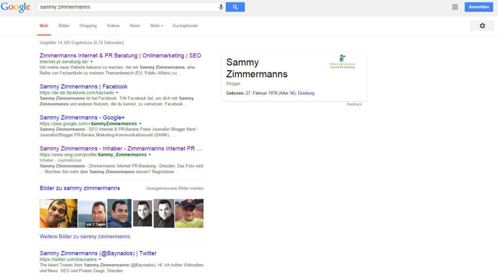 Sammy Zimmermanns Knowledge Graph