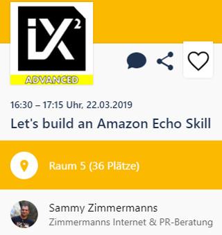 Let's build an Amazon Echo Skill