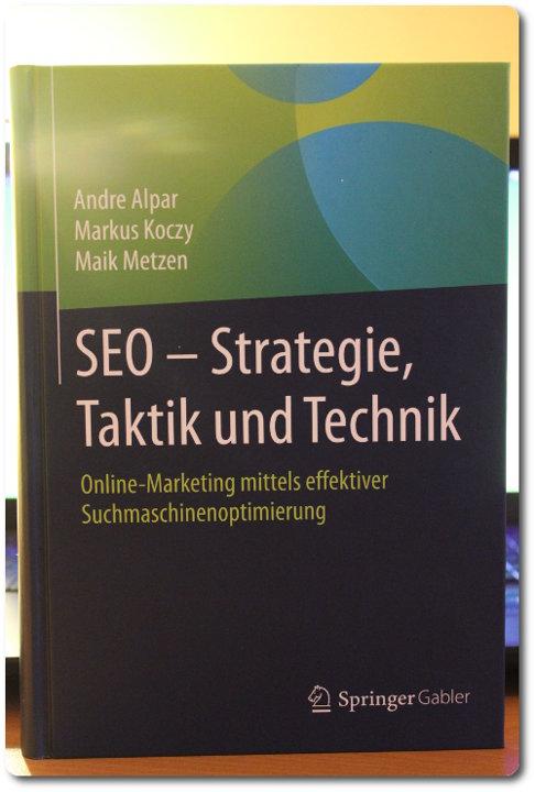 Buchtipp: SEO - Strategie, Taktik und Technik